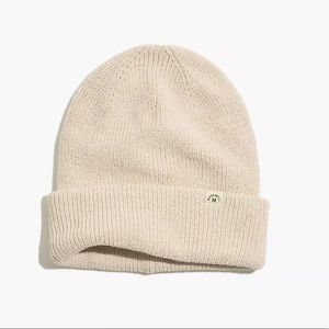 Madewell Recycled Beanie+Soft knit+Sun  Heather Clay +Gift+Eco Friendly